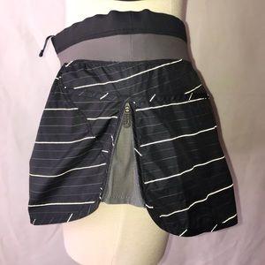 Lole NWOT XS stripe running shorts